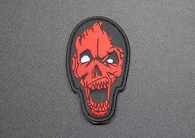 Zombie Head 3D PVC Morale Patch - Tactical Outfitters