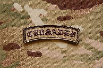 CRUSADER MORALE PATCH TAB - Tactical Outfitters