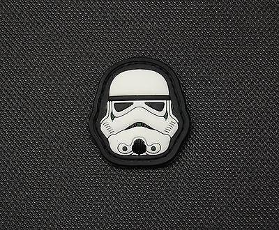 MINI STORMTROOPER HELMET 3D PVC MORALE PATCH - Tactical Outfitters