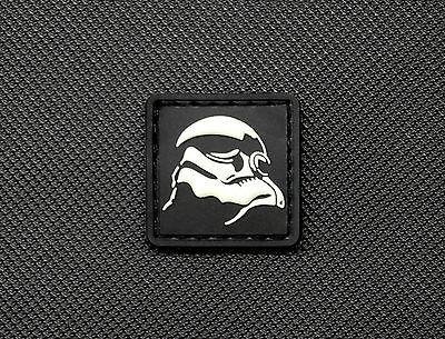 STORMTROOPER GITD 3D PVC CAT EYE MORALE PATCH - Tactical Outfitters