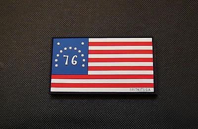 BENNINGTON FLAG SPIRIT OF '76 PVC MORALE PATCH - Tactical Outfitters