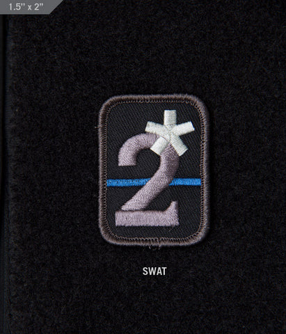 2 ASSTERISK MORALE PATCH - Tactical Outfitters