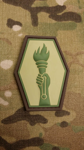100TH/442ND - MOJO TACTICAL PVC PATCH - Tactical Outfitters
