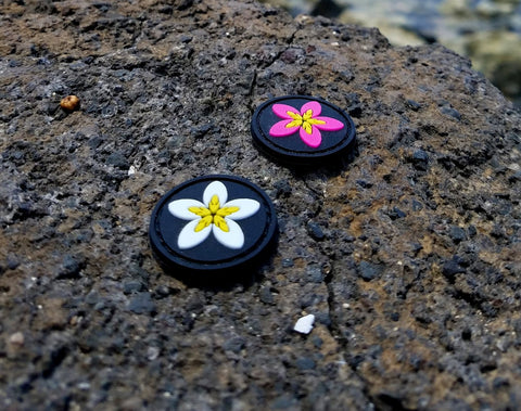PLUMERIA GITD CAT EYE MORALE PATCH SET - Tactical Outfitters