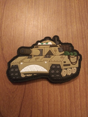 Tank PVC Morale Patch - Tactical Outfitters