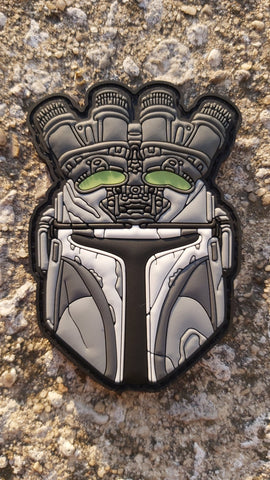 MANDALORIAN NODS PVC MORALE PATCH - Tactical Outfitters