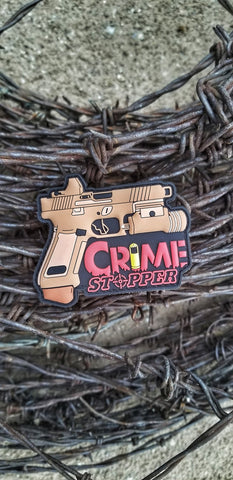 Crime Stopper Morale Patch - Tactical Outfitters