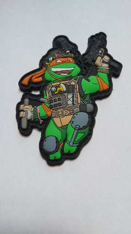 Michelangelo PVC Morale Patch - Tactical Outfitters