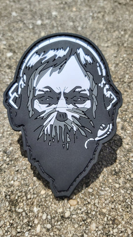 BEARDED PUNISHER PVC MORALE PATCH - Tactical Outfitters