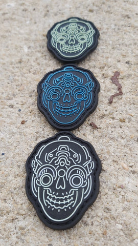 MINI NVG SKULL PVC MORALE PATCH - Tactical Outfitters