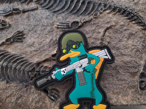 Tactical Perry PVC Morale Patch