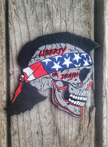 Liberty or Death Morale Patch