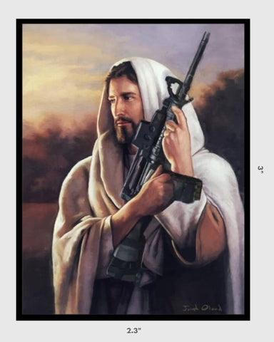 2A Jesus Sticker - Tactical Outfitters