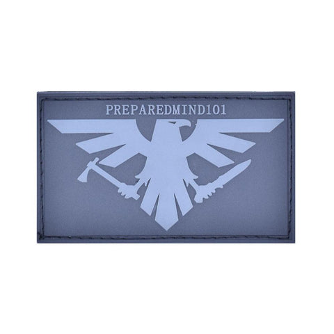 PREPARED MIND 101 PVC MORALE PATCH - Tactical Outfitters