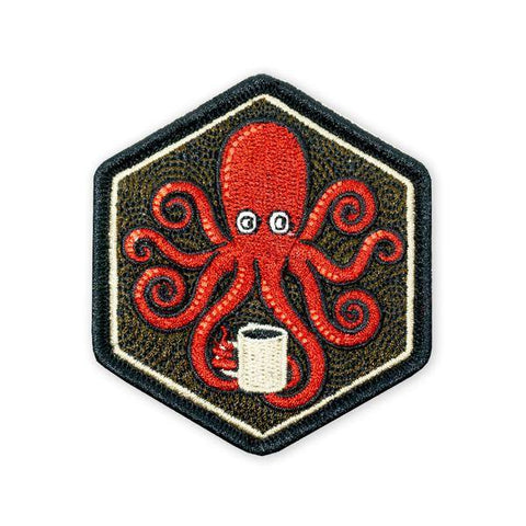 PDW SPD Kraken Black Coffee LTD ED Morale Patch - Tactical Outfitters