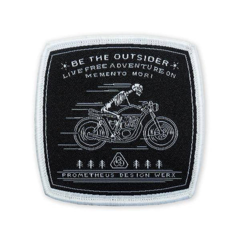 PDW Memento Mori Cafe Racer LTD ED Morale Patch - Tactical Outfitters