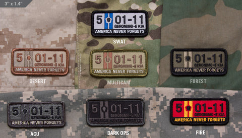 5-01-11 MORALE PATCH - Tactical Outfitters
