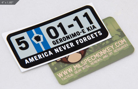 5-01-11 STICKER - Tactical Outfitters