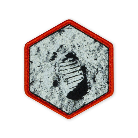 PDW Moon Footprint 50th Anniversary LTD ED Morale Patch - Tactical Outfitters