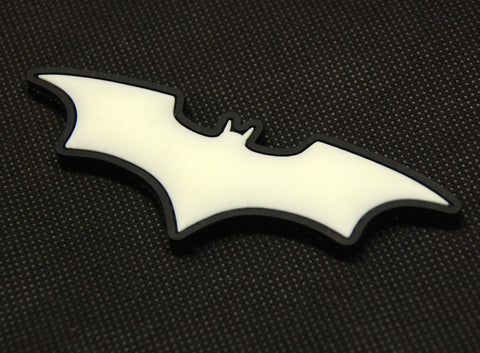 Dark Knight GITD PVC Morale Patch - Tactical Outfitters