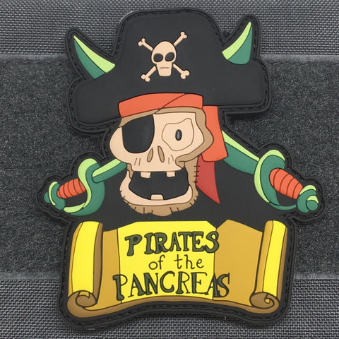 PIRATES OF THE PANCREAS – 3D PVC MORALE PATCH - Tactical Outfitters