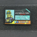 KROMBOPULOS MICHAEL BUSINESS CARD GITD 3D PVC MORALE PATCH - Tactical Outfitters