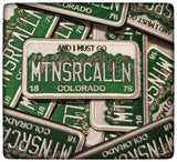 MOUNTAINS ARE CALLING LICENSE PLATE MORALE PATCHES - Tactical Outfitters