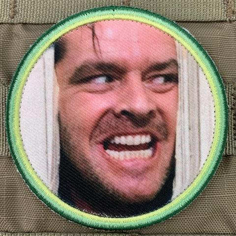 """HERE'S JOHNNY!"" THE SHINING MORALE PATCH - Tactical Outfitters"