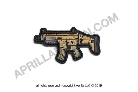 SCAR16 PVC MORALE PATCH - Tactical Outfitters