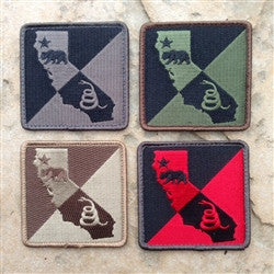 DTOM CALIFORNIA MORALE PATCH - Tactical Outfitters