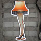 FRAGILE LEG LAMP STICKER - Tactical Outfitters