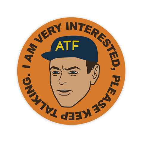 ATF GUY STICKER - Tactical Outfitters