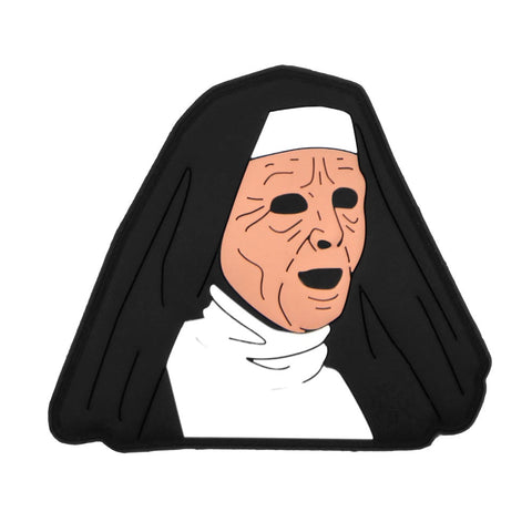 NUN MASK PVC MORALE PATCH - Tactical Outfitters