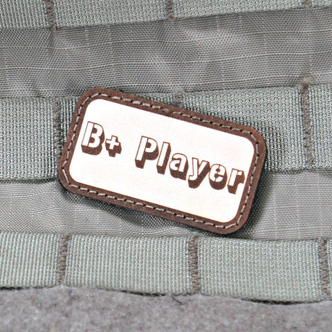 B+ Player Morale Patch - Tactical Outfitters