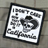 I DON'T CARE CALIFORNIA MORALE PATCH - Tactical Outfitters