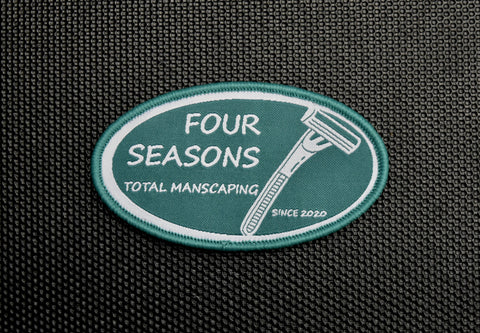 FOUR SEASONS TOTAL MANSCAPING MORALE PATCH - Tactical Outfitters