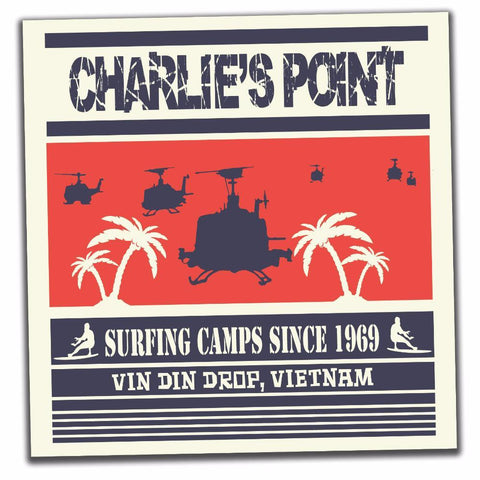 CHARLIE'S POINT STICKER - Tactical Outfitters