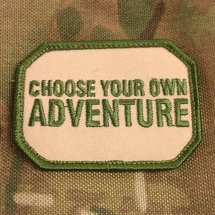 CHOOSE YOUR OWN ADVENTURE - MOJO TACTICAL MORALE PATCH - Tactical Outfitters