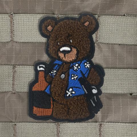 CREASY BEAR CHENILLE MORALE PATCH - Tactical Outfitters
