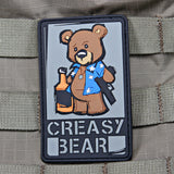 Creasy Bear PVC Patch - Tactical Outfitters