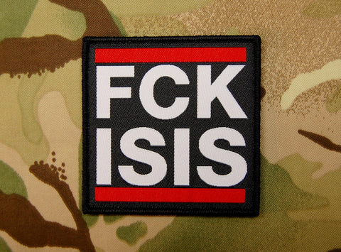FCK ISIS Morale Patch - Tactical Outfitters