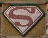 Superman Logo Morale Patch - Tactical Outfitters