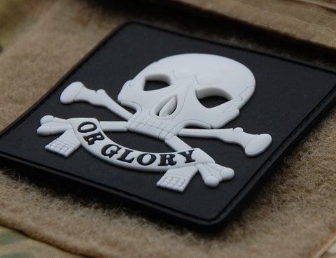 DEATH OR GLORY PVC MORALE PATCH - Tactical Outfitters