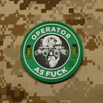 OAF 3D PVC MORALE PATCH - Tactical Outfitters