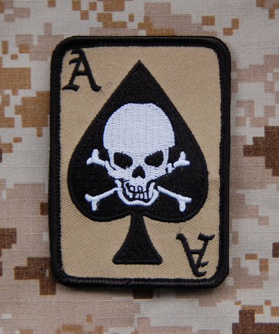 DEATH DEALER CARD MORALE PATCH - Tactical Outfitters