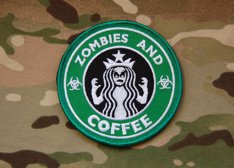 Zombies and Coffee Morale Patch - Tactical Outfitters