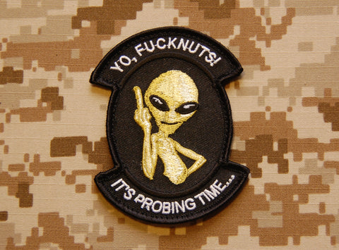 Probing Time Morale Patch - Tactical Outfitters