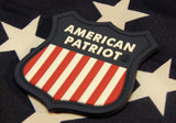 AMERICAN PATRIOT 3D PVC MORALE PATCH - Tactical Outfitters