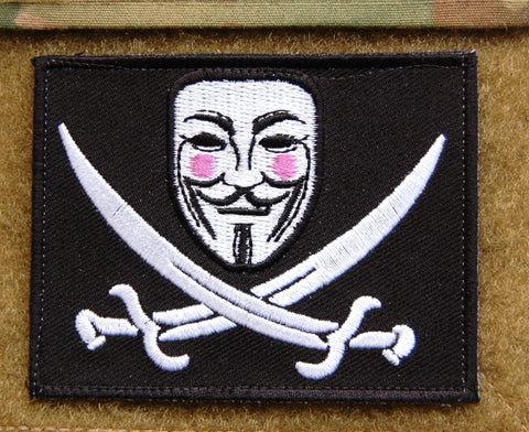 V FOR VENDETTA MORALE PATCH - Tactical Outfitters
