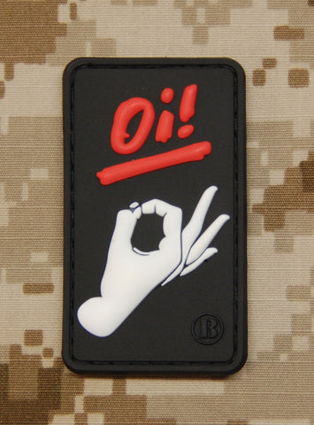Oi! Wanker PVC Patch - Tactical Outfitters